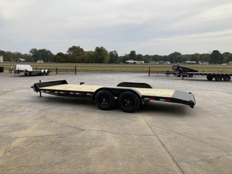 """2021 Rice 82""""x20' 10k Car Hauler"""