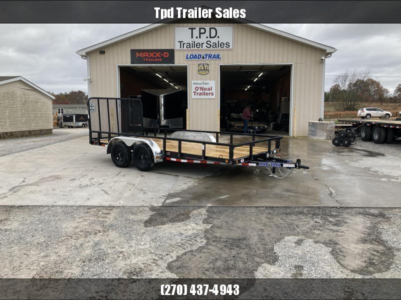 "2021 Load Trail 83""X16' Utility Trailer"