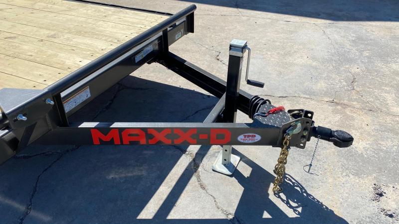 "2021 MAXXD 83""x22' Equipment Trailer"