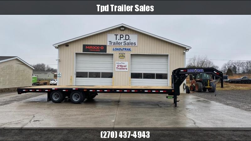 "2021 Load Trail 102""x30' 25.9k Gooseneck Trailer"