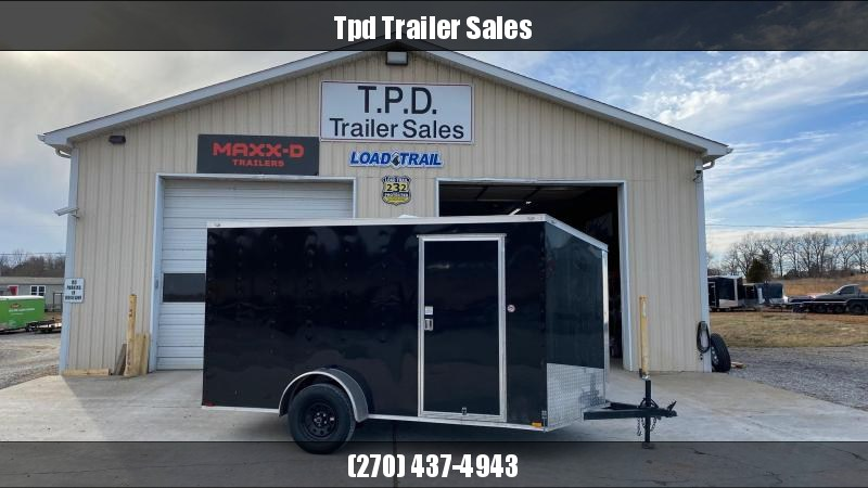 2021 Spartan 6'x12' Enclosed Trailer