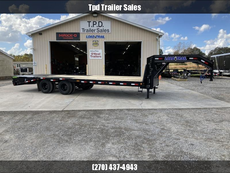 "2021 Load Trail 102""X25' Gooseneck Equipment Trailer"
