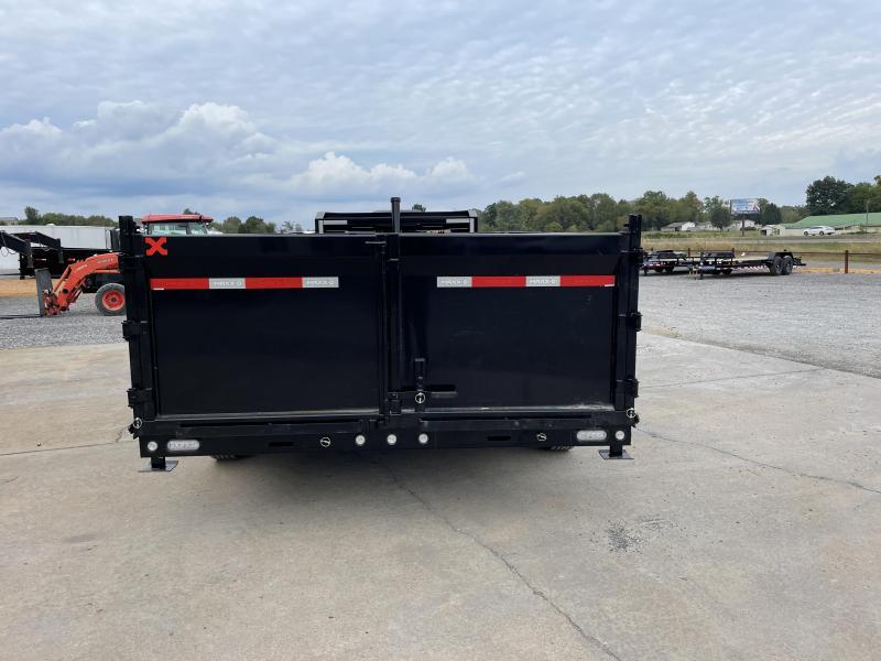 "2022 MAXXD 83""x16' 14k Telescoping Gooseneck Dump Trailer"