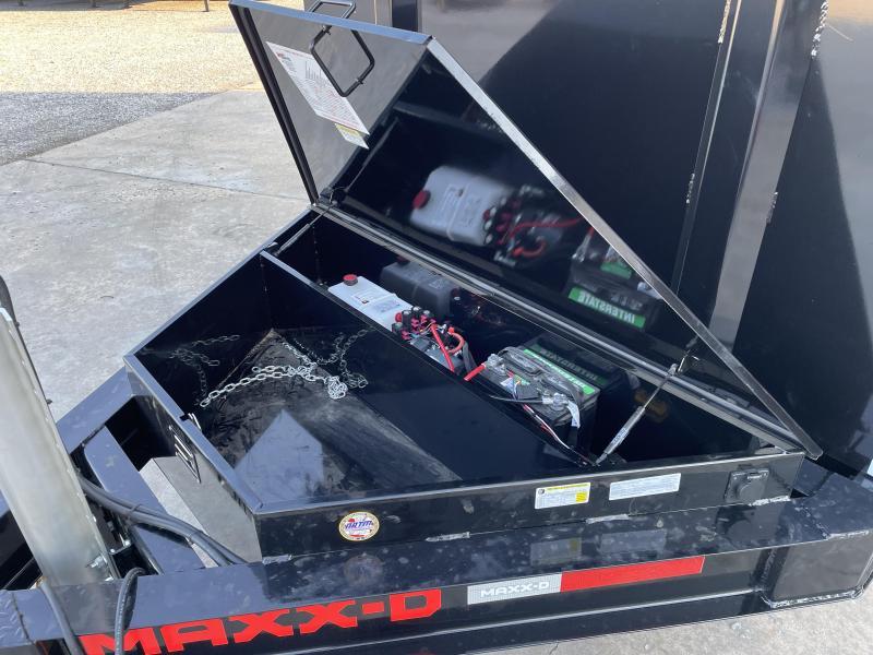 "2022 MAXXD 83""X16' 16K Dump Trailer"