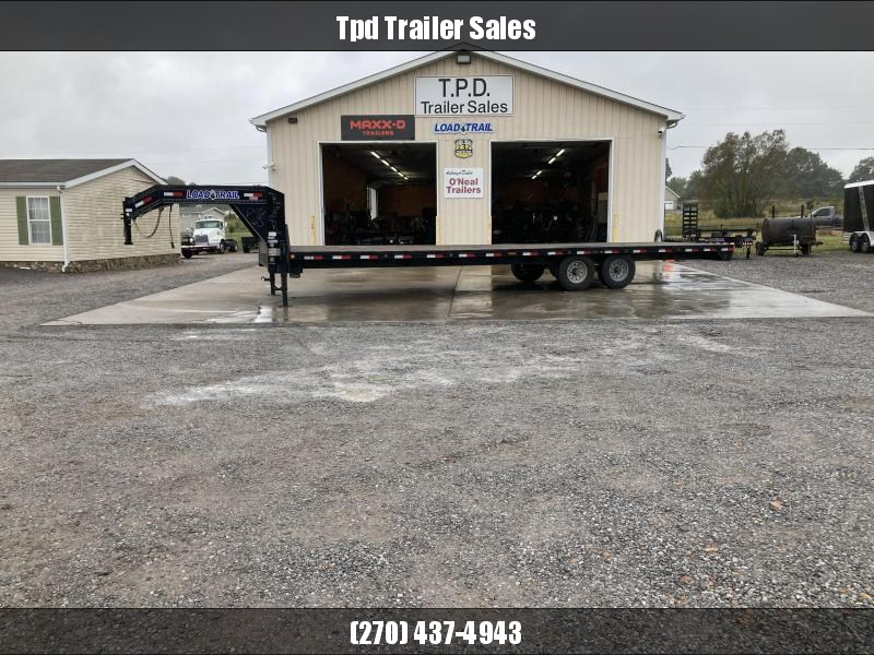"Used 2019 Load Trail 102""X30' Gooseneck Equipment Trailer"