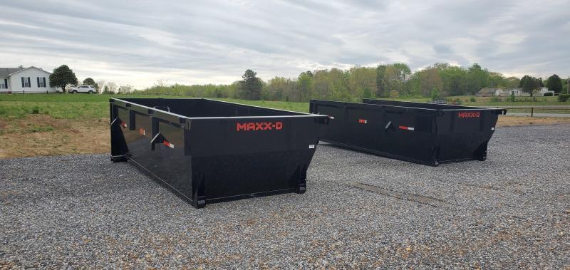 "2021 MAXXD 83""x16' Gooseneck Roll-Off Dump Trailer"