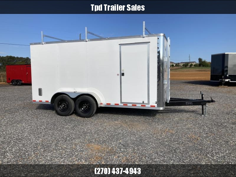 2021 Spartan 7'X16' Enclosed Trailer