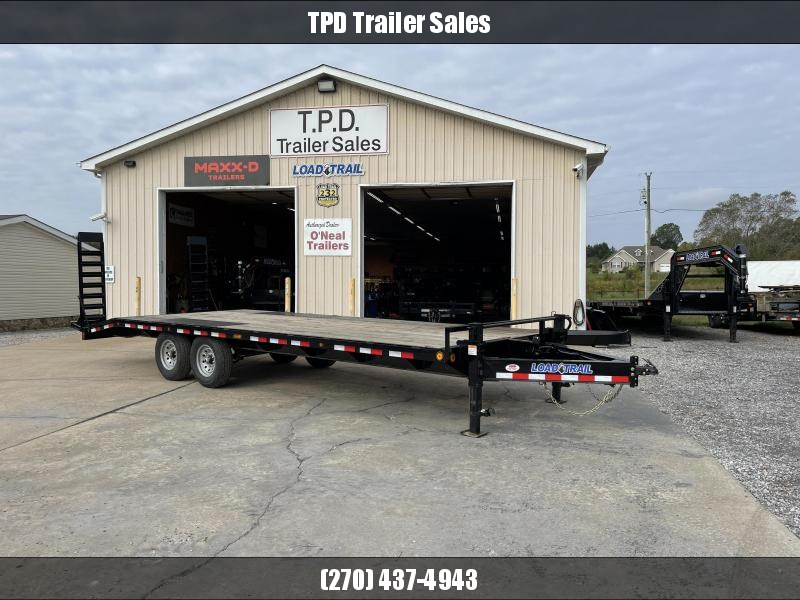 "2022 Load Trail 102""X24' 14K Deckover Equipment Trailer"