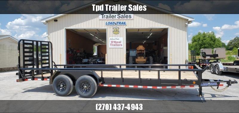 "2020 Load Trail 83""X22' Equipment Trailer"