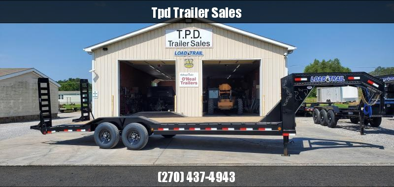 "2021 Load Trail 102""X24' Gooseneck Trailer"