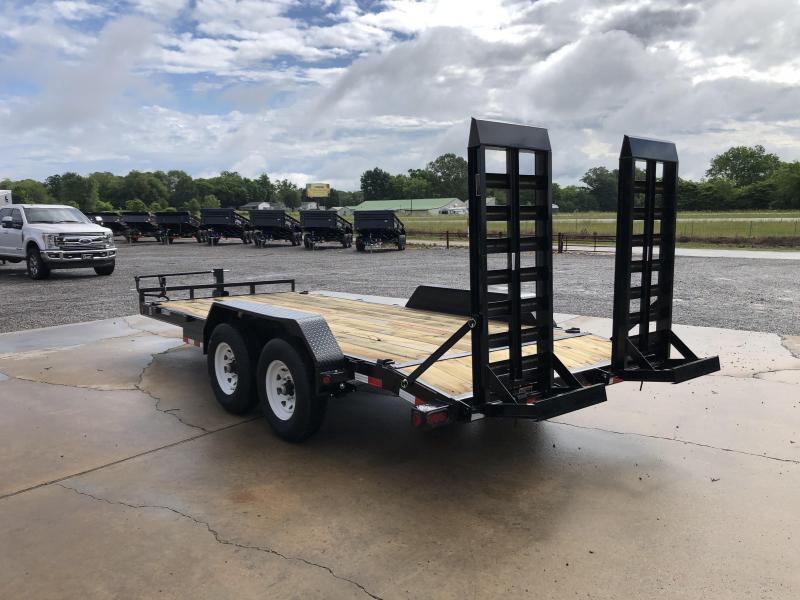 "2021 Load Trail 83""x18' Tandem Axle Equipment Trailer"