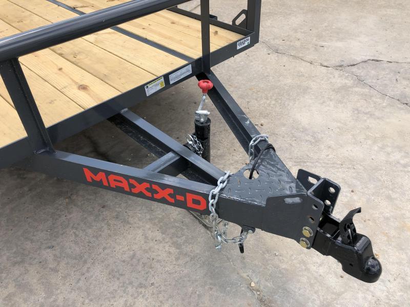 """2021 MAXXD 61""""x10' 3.5k Utility Trailer"""