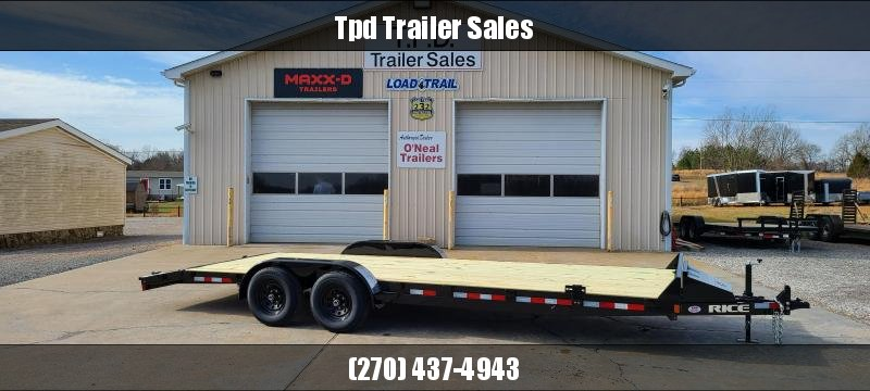 "2021 Rice 82""X22' Equipment Trailer"