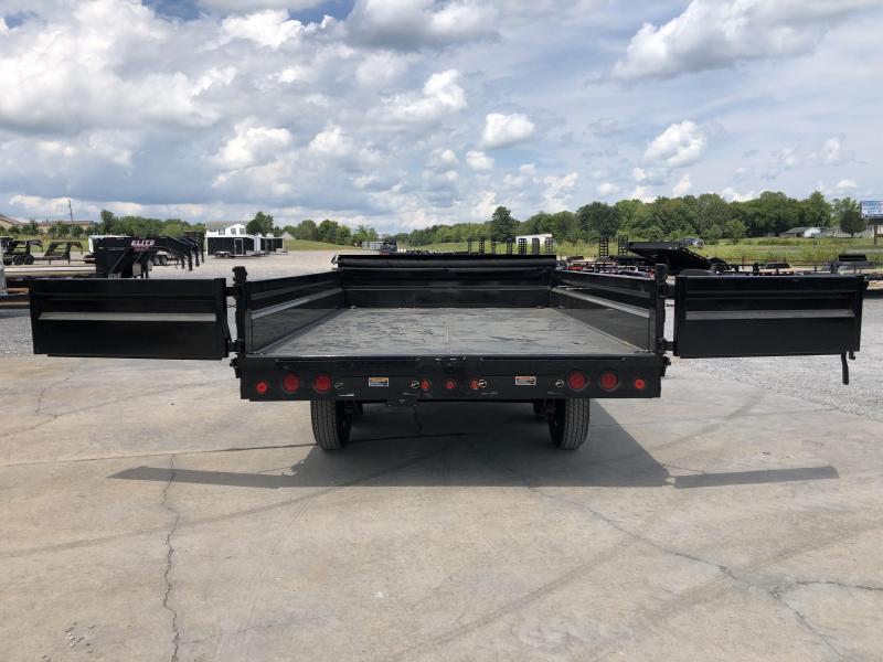 "2022 Load Trail 96""x14' 14k Fold Down Sides Dump Trailer"