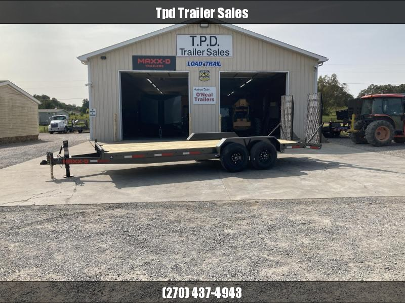 "2021 MAXXD 83""X20' Equipment Trailer"