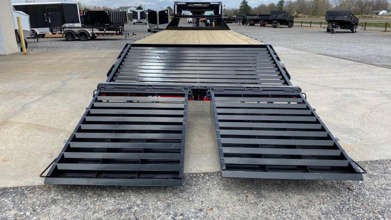 "2021 Load Trail 102""x25' Gooseneck Trailer"