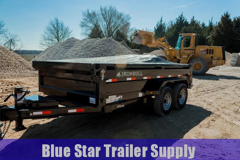 83X14 Bumper Pull Dump Trailer - DTB14k