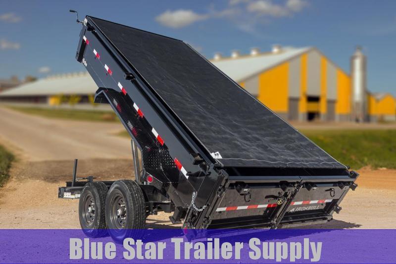 83X14 Bumper Pull Dump Trailer - DWB14