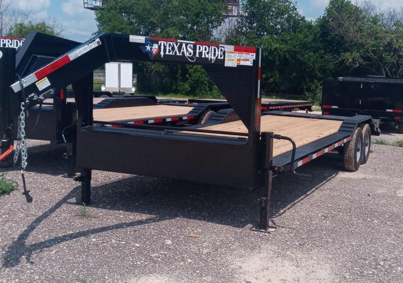 2022 Texas Pride Trailers 2022 Gooseneck Low Boy Equipment Hauler Equipment Trailer
