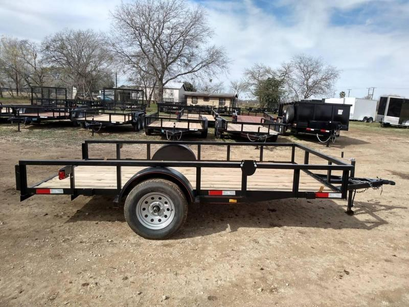 6 X 12 Single Axle Utility Trailer