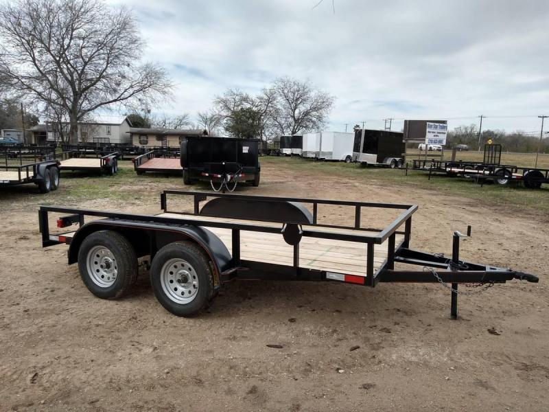 78 X 12 Tandem Axle Utility Trailer