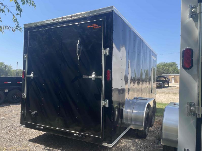 7 X 16 Tandem Axle Enclosed Cargo Trailer