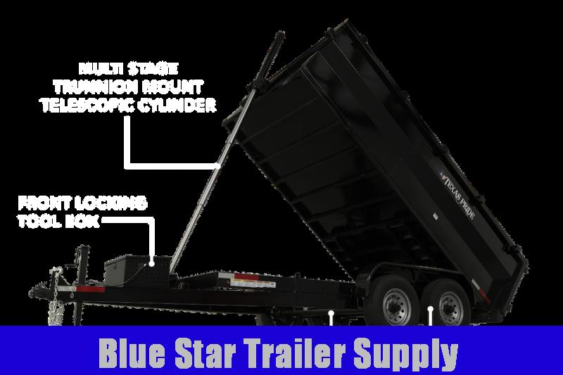 7X12 Bumper Pull Dump Trailer - DT14KBP