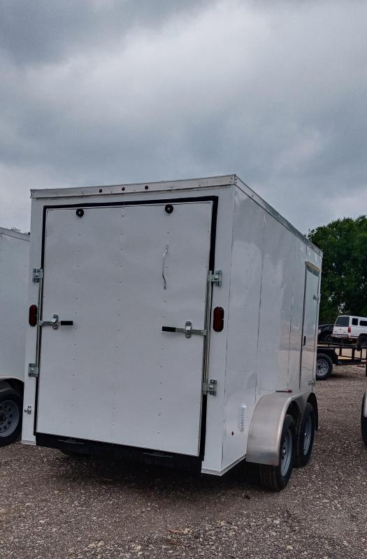 6X12 Tandem Axle Enclosed Cargo Trailer