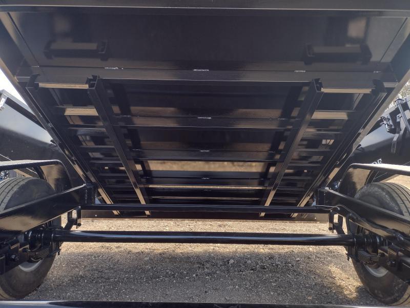 7 X 14 Bumper Pull Dump Trailer