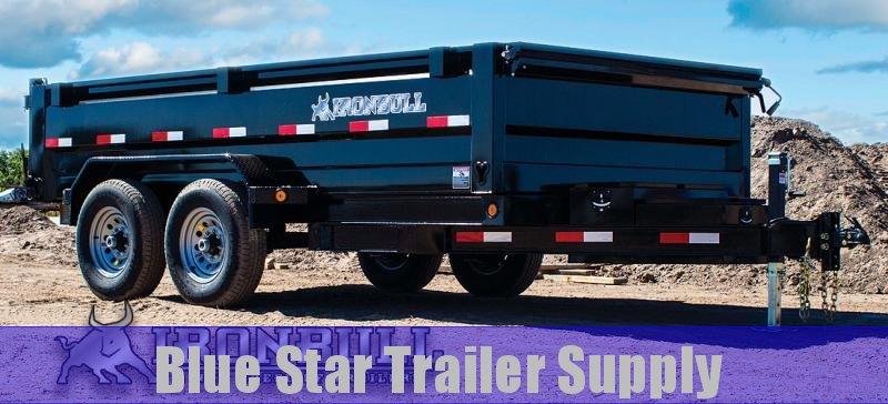 2020 Iron Bull DT14 - 14000lb GVWR Tandem Axle Dump Trailer