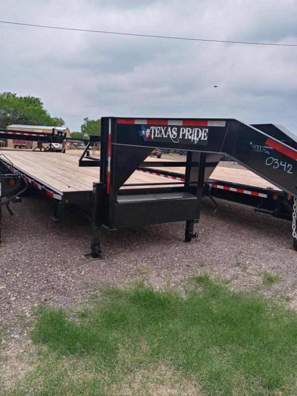 102 x 25 Gooseneck Deckover Equipment Trailer