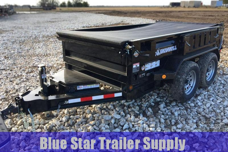 6 x 12 Bumper Pull Dump Trailer
