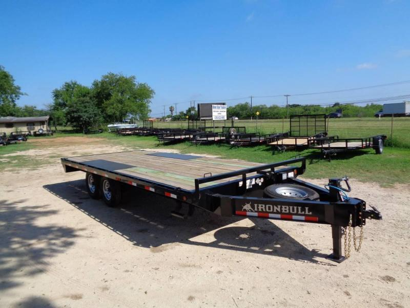 102 X 20 Bumper Pull Deckover Equipment Trailer - 14k GVWR
