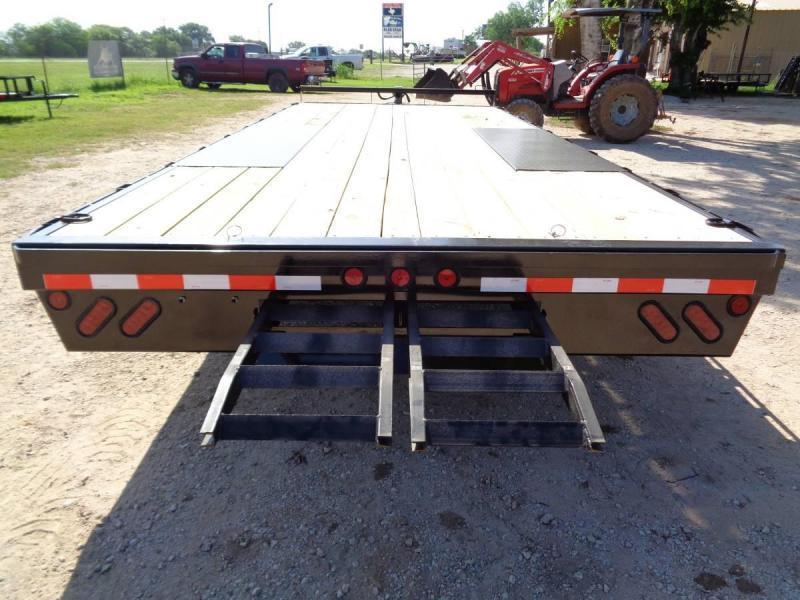 102 X 20 Bumper Pull Deckover Equipment Trailer - 14k GVWR