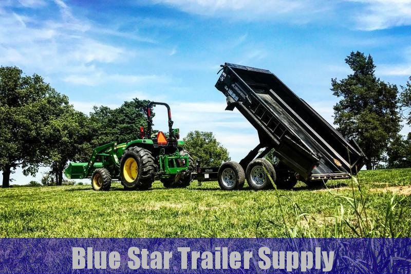 5X10 Bumper Pull Dump Trailer - DTB7k