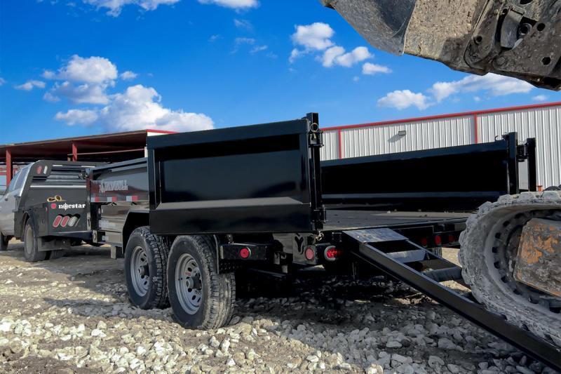 83 x 14 Bumper Pull Dump Trailer
