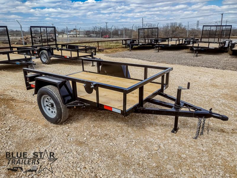 5 X 10 Single Axle Standard Utility Trailer