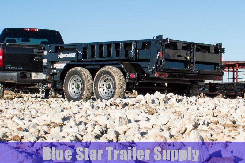 5X10 or 6X12 Bumper Pull Dump Trailer - DTB7k/10k