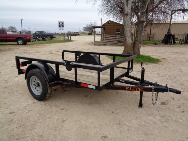 5 X 8 Single Axle Utility Trailer
