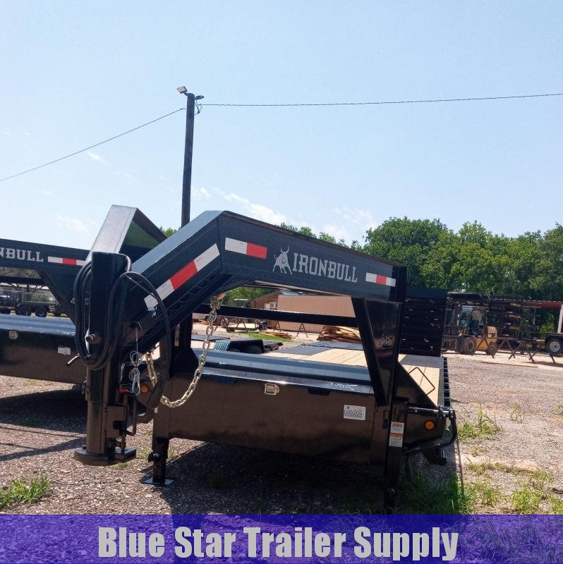 2021 Iron Bull FDG - 14K Gooseneck Deckover Equipment Trailer