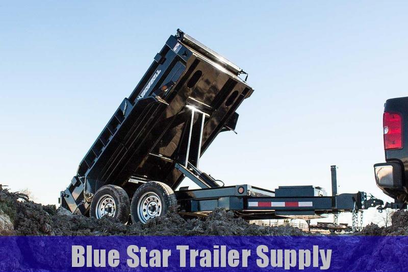6X12 Bumper Pull Dump Trailer - DTB14k