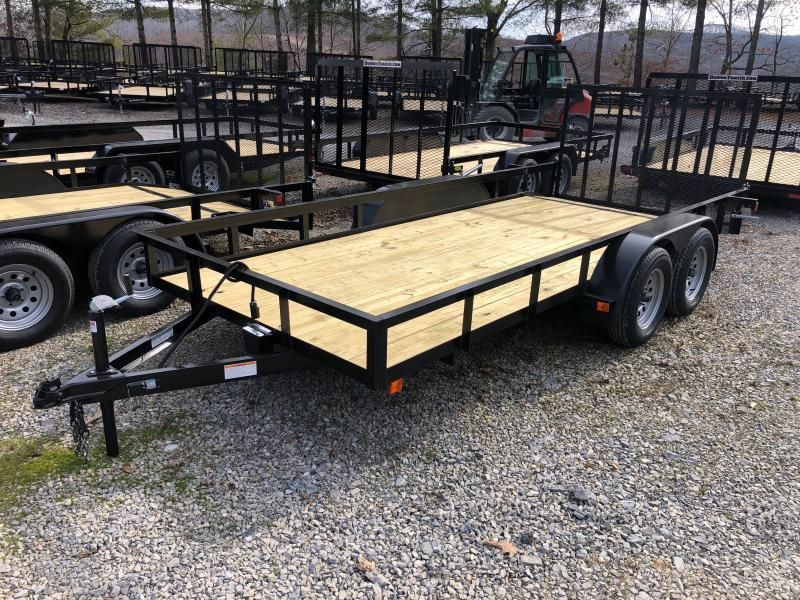 2022 Other (Not Listed) 76X16 gate brake DOVETAIL Utility Trailer