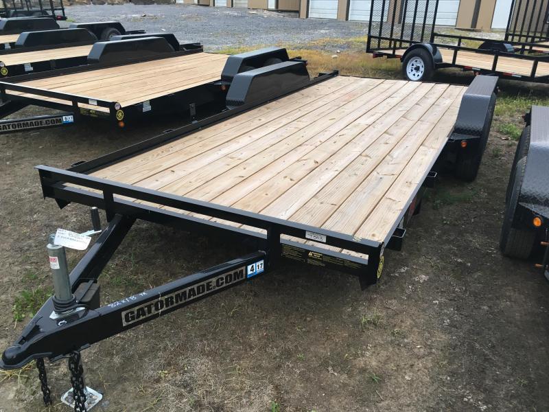 2020 Gatormade Trailers 18 wood car hauler Car / Racing Trailer