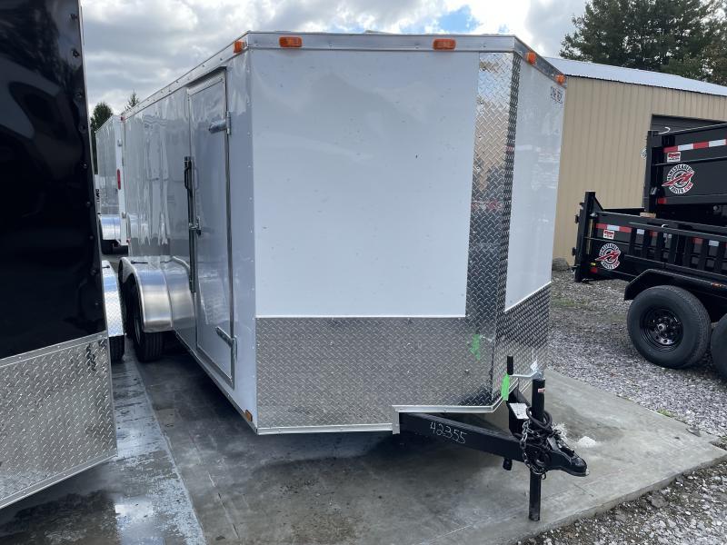 2021 Cynergy 7x16 V-Nose ramp Enclosed Cargo Trailer