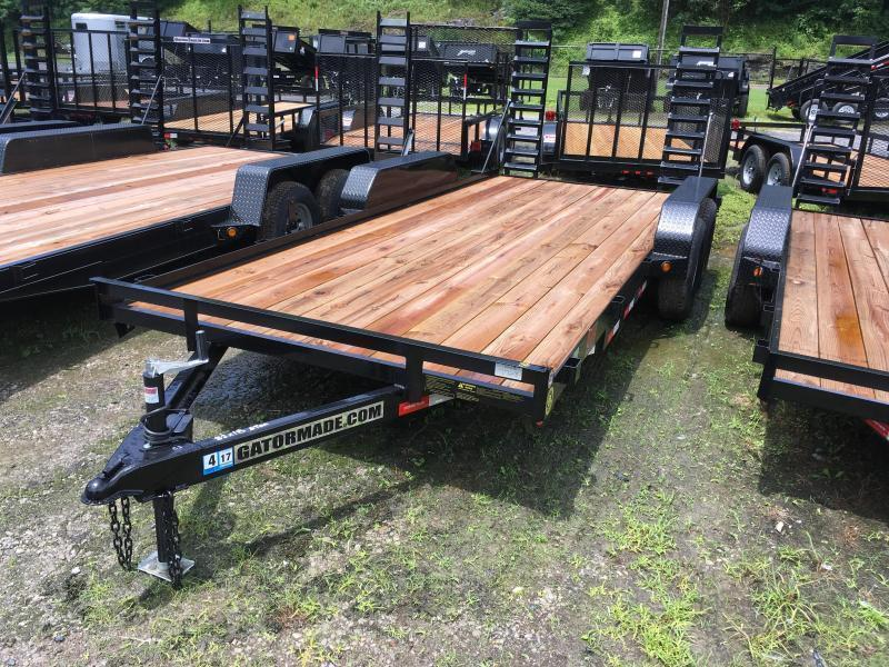 2021 Gatormade Trailers 18ft 5 ton Equipment Trailer