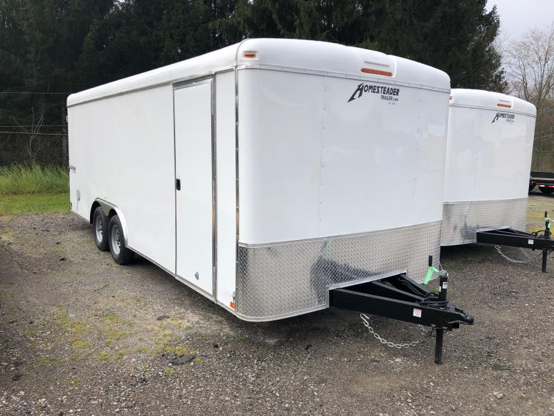 2021 Homesteader 8.5X20 Challenger SD double door Enclosed Cargo Trailer