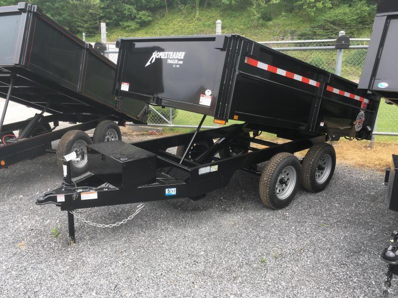 2021 Homesteader 6x10 3.5 ton dump Dump Trailer