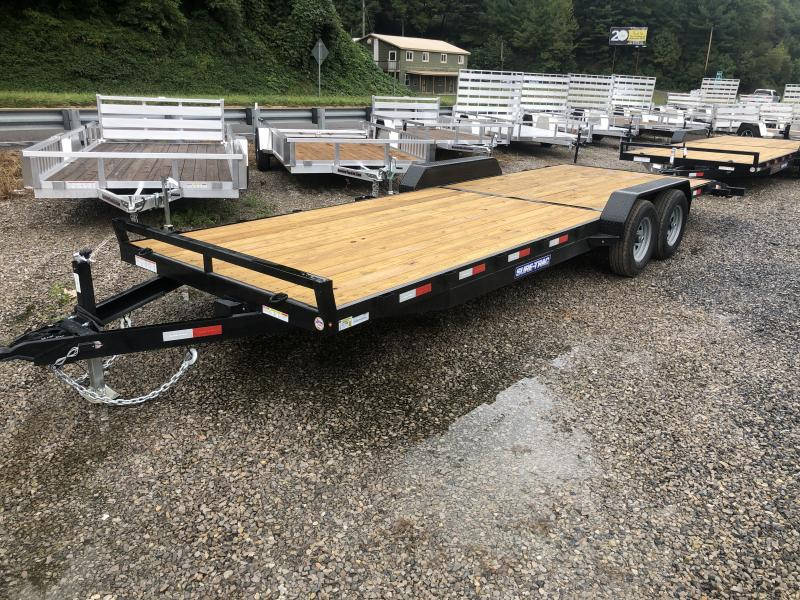 2021 Sure-Trac 82x24 5Ton Wood Floor Car Hauler Car / Racing Trailer