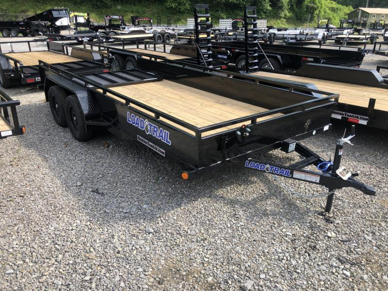 2020 Load Trail 83X16 SOLID SIDES W/Gate Utility Trailer