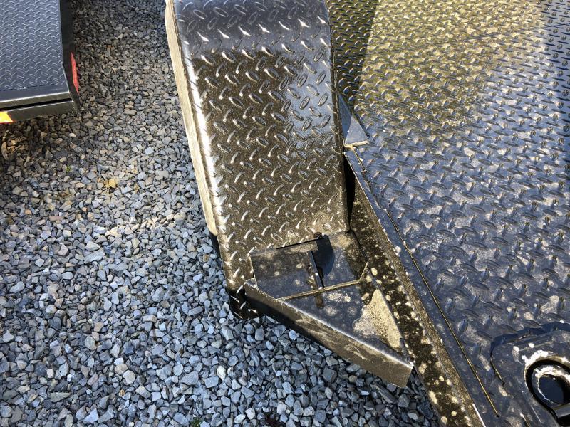 2021 Quality Trailers 82x22 5ton steel floor car hauler left removable fender 4brk Car / Racing Trailer